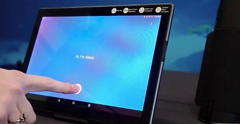 Lenovo tab 4: Alexa is here (Videos)