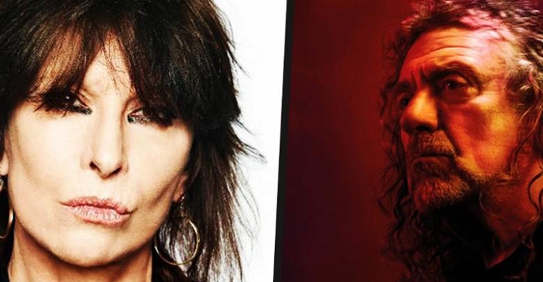 O Robert Plant ντουετάρει με την Chrissie Hynde. (ΑΚΟΥΣΤΕ) «Η φωνή» σμίγει με την «κυρία» σε ένα νέο τραγούδι.