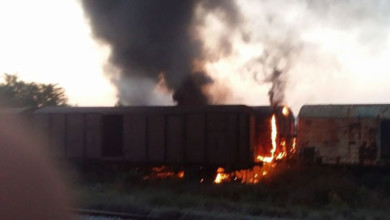 Photo of Φωτιά σε βαγόνια τρένου στην Μοναστηρίου