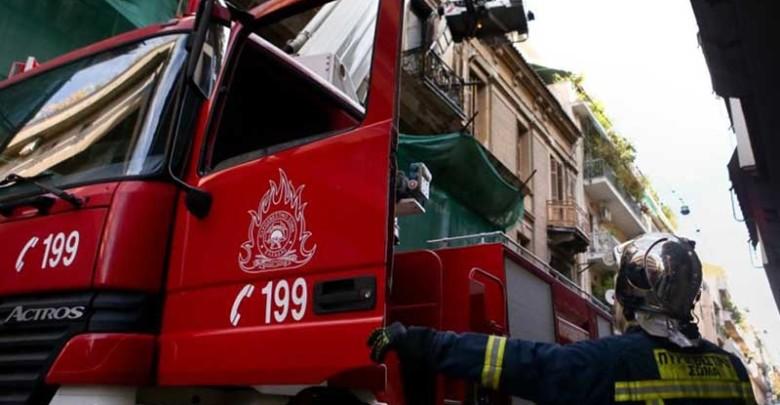 Πυρκαγιά σε διαμέρισμα στην Άνω Πόλη
