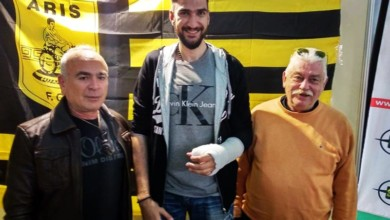"Photo of Ο Τάσος Μωυσιάδης στο περίπτερο του Yellow Radio: ""Υπομονή και όλα θα πάνε καλά"""