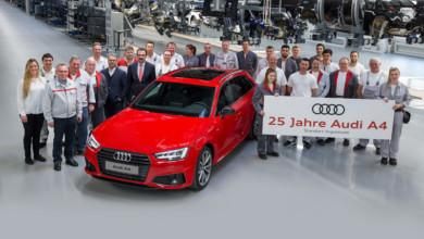 Photo of 25 χρόνια Audi A4