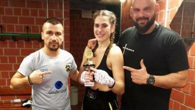 Photo of Kick Boxing: Τα «χρόνια πολλά» του Σκέμπη (photo)