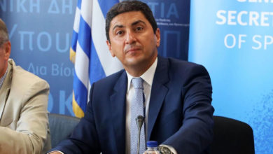 Photo of Αυγενάκης: «Πιθανότατα τον Μάιο η επανέναρξη του πρωταθλήματος»
