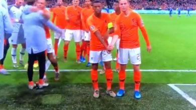 Photo of Προκριματικά Euro 2020: Φοβερός πανηγυρισμός ενάντια στο ρατσισμό από την Ολλανδία! (video)