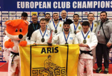 Photo of Χάλκινος ο Άρης στο Ευρωπαϊκό πρωτάθλημα Τζούντο (photos)
