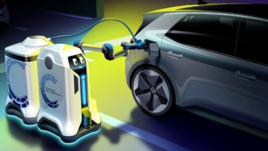 Photo of Η Volkswagen εξελίσσει ρομπότ για φόρτιση EV (video)