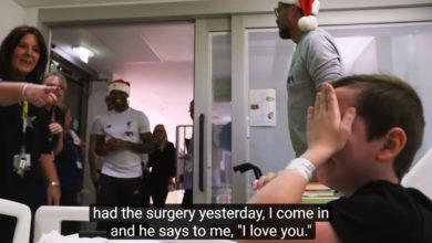 Photo of Πανέμορφες στιγμές σε νοσοκομείο παίδων με τη Λίβερπουλ να κάνει επίσκεψη (video)