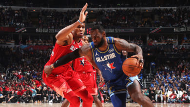 "Photo of NBA All Star Game: Κρίμα για τον σούπερ Αντετοκούνμπο! ""Λύγισε"" στο τέλος από τον MVP Λέοναρντ"
