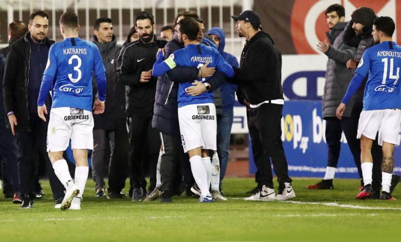 Photo of Ατρόμητος: Ένταση μεταξύ παικτών και οπαδών στο Περιστέρι! (pics)