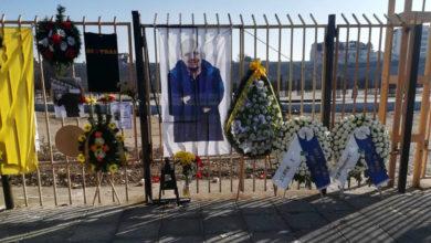 Photo of Κατάθεση στεφανιών στην μνήμη του Τόσκο από Super 3 και Ιερολοχίτες (photos)
