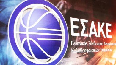 Photo of Basket League: Ο ΕΣΑΚΕ αποφασίζει αν θα υπάρξει ακύρωση πρωταθλήματος ή επικύρωση βαθμολογίας