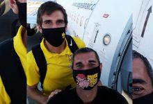 Photo of Σέλφι νίκης από Τερζή και Κουέστα με τις μάσκες να μην… κρύβουν τα χαμόγελα!