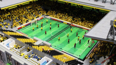Photo of To Signal-Iduna-Park σε… lego (vid)