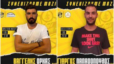 Photo of Χάντμπολ Ανδρών: Ανανέωσαν Όρκας και Παπαδόπουλος